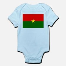 Burkina Faso Flag Infant Bodysuit