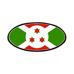 Burundi Flag Patches