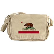California Flag Messenger Bag