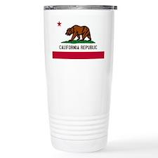 California Flag Travel Coffee Mug