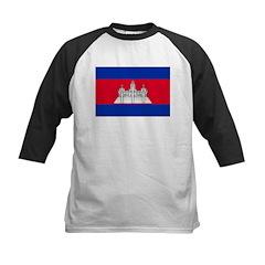 Cambodia Flag Tee
