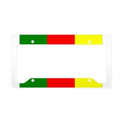 Cameroon Flag License Plate Holder