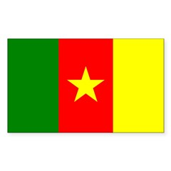 Cameroon Flag Decal