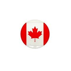 Canada Flag Mini Button (10 pack)