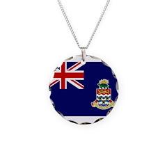 Cayman Islands Flag Necklace