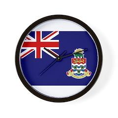 Cayman Islands Flag Wall Clock