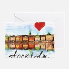 Funny Stockholm Greeting Card