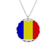 Chad Flag Necklace