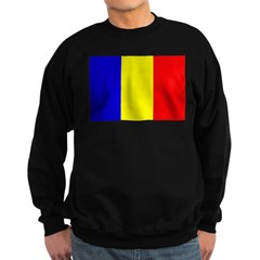 Chad Flag Sweatshirt (dark)