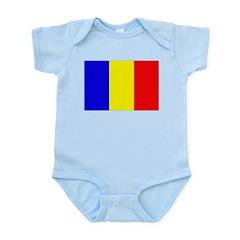 Chad Flag Infant Bodysuit