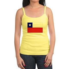 Chile Flag Jr.Spaghetti Strap