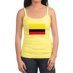 Colombia Flag Jr.Spaghetti Strap