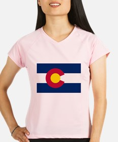 Colorado Flag Performance Dry T-Shirt