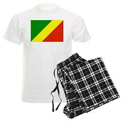 Congo Republic Flag Pajamas