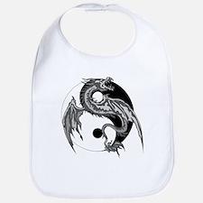 Yin Yan Symbol Bib