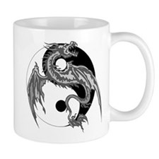 Yin Yan Symbol Small Mug