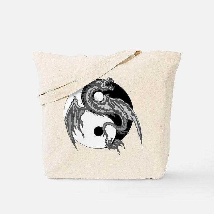 Yin Yan Symbol Tote Bag