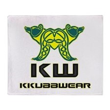 KW DOUBLE BEAR Throw Blanket