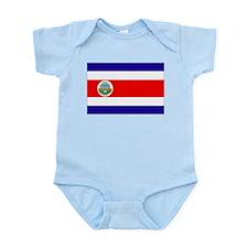 Costa Rica Flag Infant Bodysuit