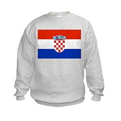 Croatia Flag Sweatshirt