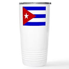Cuba Flag Travel Mug
