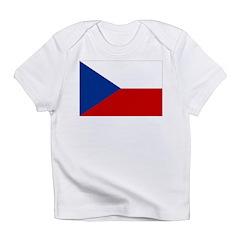 Czech Republic Flag Infant T-Shirt