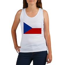 Czech Republic Flag Women's Tank Top