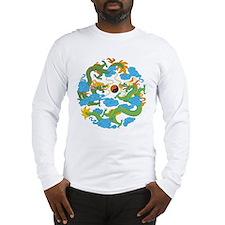 Yin Yang Symbol Long Sleeve T-Shirt