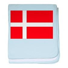Denmark Flag baby blanket