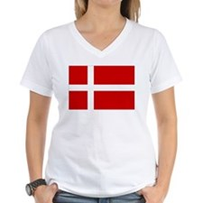 Denmark Flag Shirt