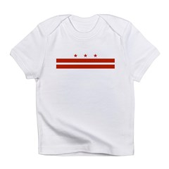 District of Columbia Flag Infant T-Shirt