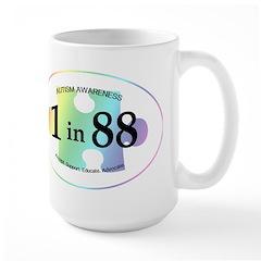 1in88 Oval - Spectrum Mug