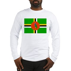 Dominica Flag Long Sleeve T-Shirt