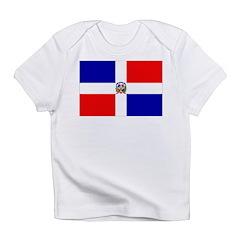 Dominican Republic Flag Infant T-Shirt