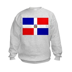 Dominican Republic Flag Sweatshirt