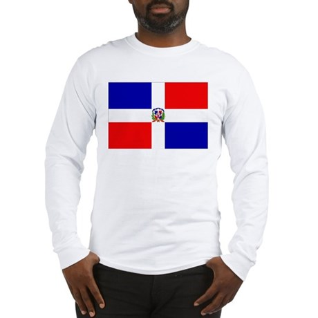Dominican Republic Flag Long Sleeve T-Shirt