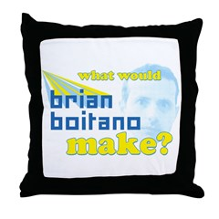 WWBBM? Throw Pillow