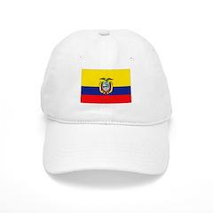 Ecuador Flag Baseball Cap