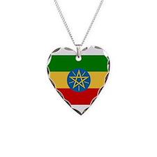 Ethiopia Flag Necklace