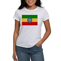 Ethiopia Flag Women's T-Shirt