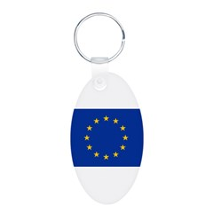 European Union Flag Keychains