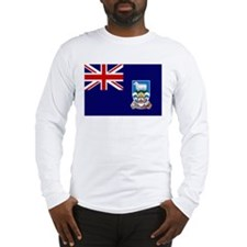 Falkland Islands Flag Long Sleeve T-Shirt