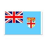 Fiji Flag Car Magnet 20 x 12