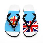 Fiji Flag Flip Flops
