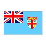 Fiji Flag 22x14 Wall Peel
