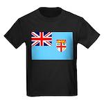 Fiji Flag Kids Dark T-Shirt