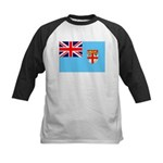 Fiji Flag Kids Baseball Jersey