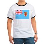 Fiji Flag Ringer T