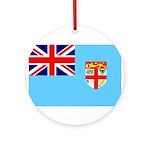Fiji Flag Ornament (Round)