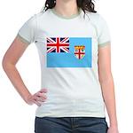 Fiji Flag Jr. Ringer T-Shirt